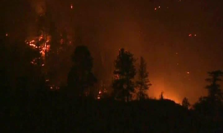 More than 250 wildfires continue to burn in British Columbia