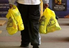 The City of Nanaimo is seeking feedback on regulating single-use checkout plastic bags. File photo.