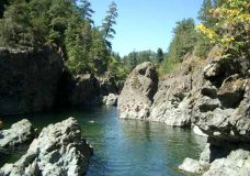 Sooke Potholes reopen to the public after being closed due to rising water levels