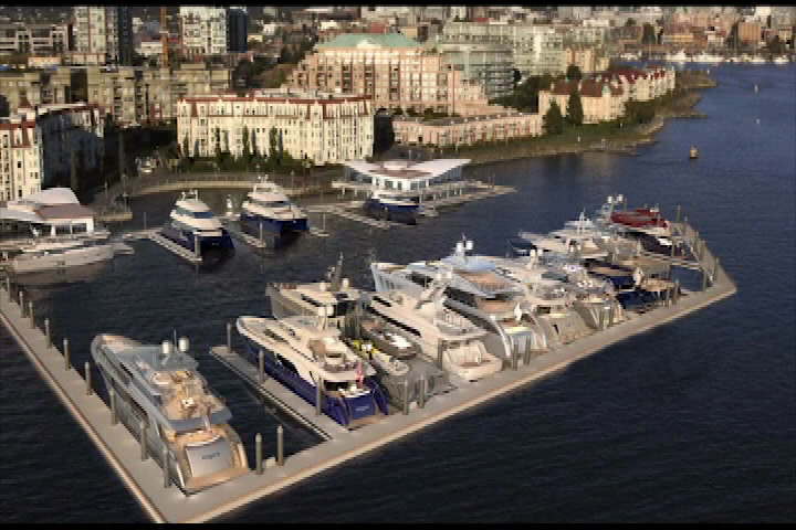 Victoria International Marina for sale after opening in 2017