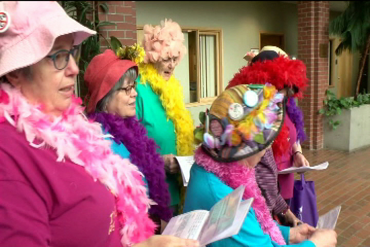 Human Rights Museum features the Raging Grannies