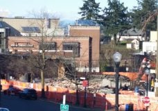 Historic Building in downtown Nanaimo demolished