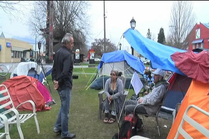 RCMP take down Duncan homeless camp