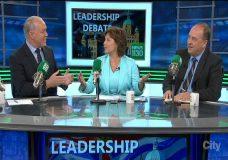 BC party leaders spar in first debate