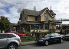 Heritage home saved from fire in Fernwood