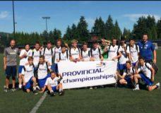 V.I. Wave soccer program takes home two provincial championships