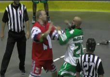 Shamrocks, Salmonbellies settle for tie in feisty affair
