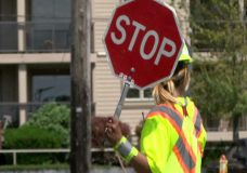 Safety is a priority for traffic flaggers who face potentially dangerous situations on the job