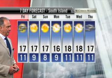 Ed's Forecast: Showers tonight but clearing for Friday and into the weekend