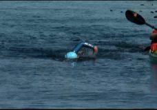 Victoria swimmers cross Juan de Fuca Strait