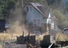 Demolition of home from Makayla Chang investigation begins
