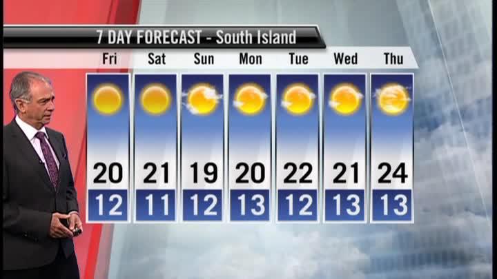 Ed's Forecast: Sunny but breezy again Friday