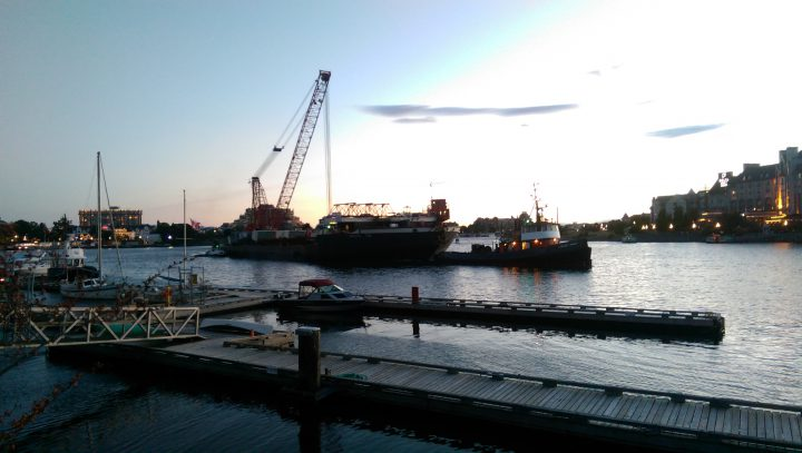 First shipment of steel for new Johnson Street Bridge to arrive in Victoria Tuesday evening