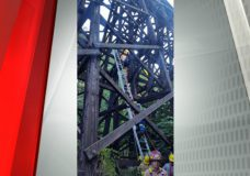 Parksville Fire Department rescues two girls from train trestle