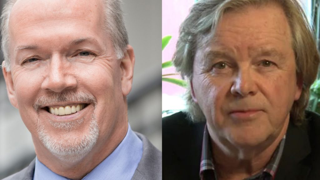 Former BC Liberal leader Gordon Wilson files defamation lawsuit against Premier Horgan