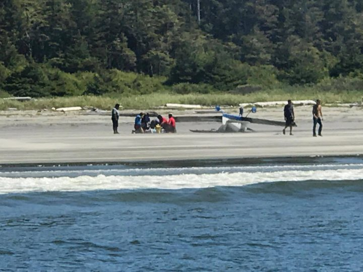2 flown to hospital after light plane crashes on Vargas Island