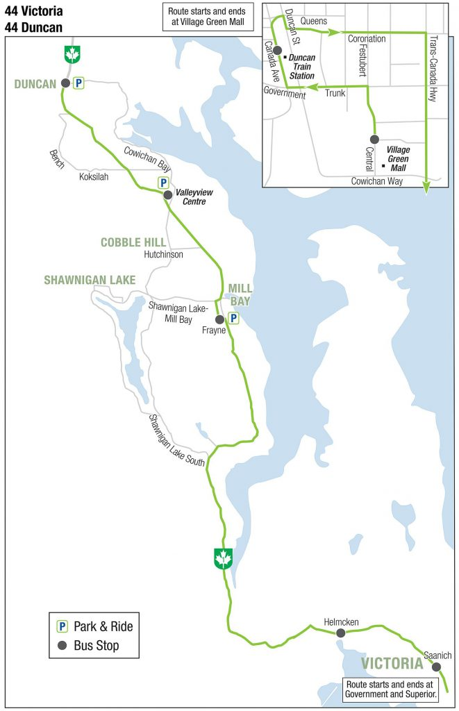 BC Transit introduces Saturday service between Cowichan Valley and Victoria