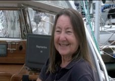 75-year-old woman attempts to be oldest person to sail solo around the world
