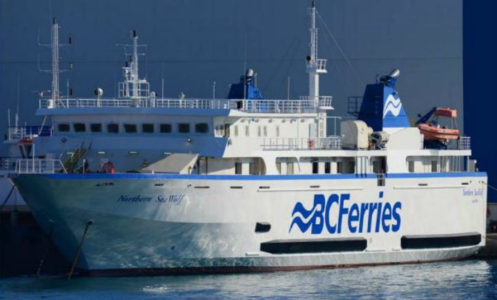B.C. Ferries' Northern Sea Wolf set sail from Athens, Greece to service new Port Hardy to Bella Coola route next summer. Photo: B.C. Ferries