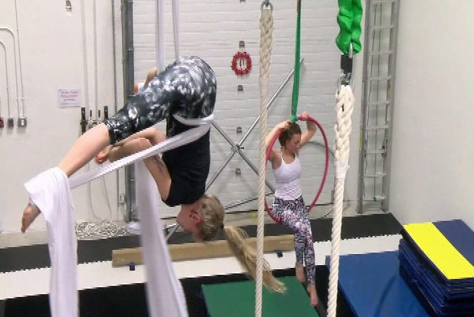 Circus arts school opens its doors in Langford