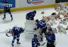 'I was being mauled with bears:' Royals reflect on best and worst of Teddy Bear Toss Night