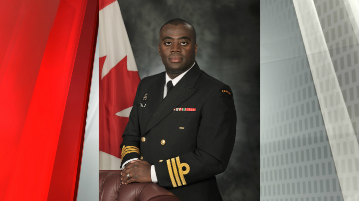 Former base logistics officer Nord Mensah was found guilty of conduct to the prejudice of good order and discipline. (Credit: Royal Canadian Navy).