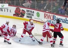 Hicketts makes impact in NHL debut, gets sent down