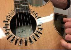 Comox luthier makes custom Jimi Hendrix guitar
