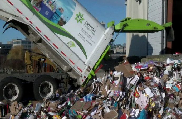 There's more recycling than ever after the holidays in Greater Victoria, but where does it all end up?