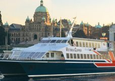 Original Victoria Clipper sets sail for the final time Tuesday