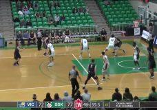 Vikes Men's basketball team season ends in heart-breaking fashion