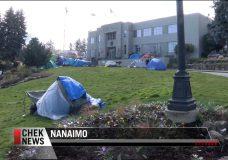 Homeless camp at Nanaimo City Hall might remain
