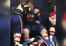 Kid hockey player makes emotional post-game speech, video goes viral