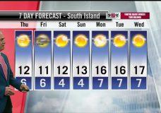 Ed's Forecast: Sunny breaks for most of Thursday but showers return Friday