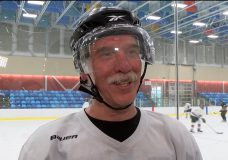 'It seems to keep your brain working': Group of seniors find special meaning in daily hockey game