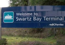 Two deckhands rescued after going overboard from ferry at Swartz Bay