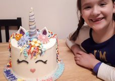 Langford girl's ninth birthday has happy ending after cake stolen