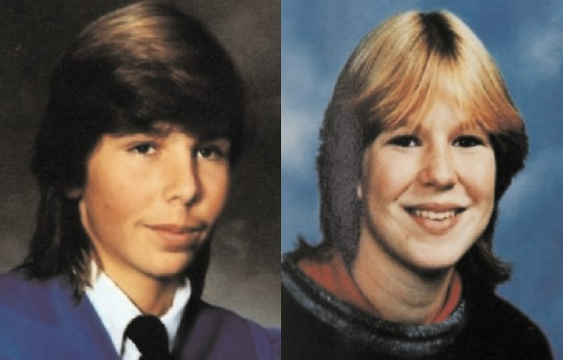 Jay Cook, 20, and his girlfriend Tanya Van Cuylenborg, 18, of Saanich were killed while visiting Washington state in 1987. Photo courtesy Times Colonist.