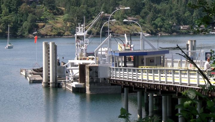 Brentwood Bay ferry