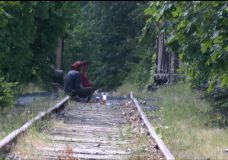 Homeless activity spikes on E&N rail line in absence of trains