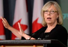 The Green Party of Canada launched an independent investigation in January into allegations of workplace harassment against leader Elizabeth May. The investigation determined the complaints did not rise to the level of workplace harassment. Photo courtesy CBC.