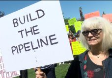 """Kinder Morgan pipeline supporters say """"it's time silent majority is heard"""""""