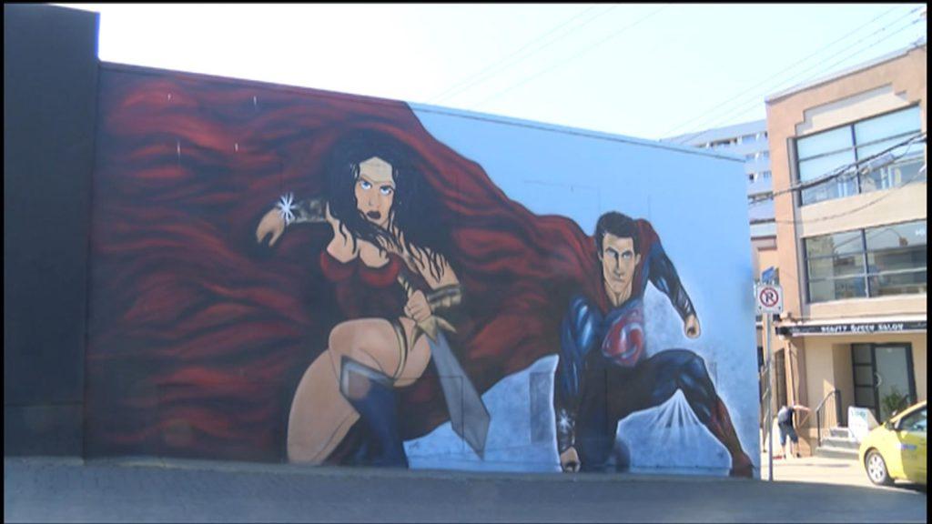 Nanaimo eyesore to be transformed into urban art gallery