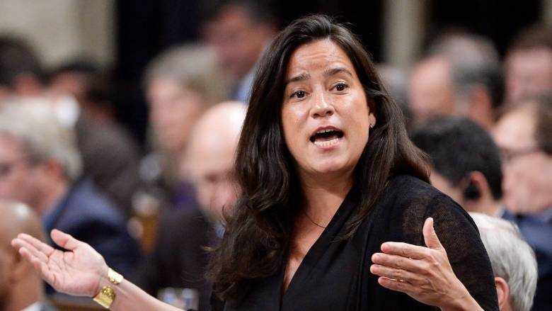 Canadian Justice Minister and Attorney General Jody Wilson-Raybould. Photo courtesy CBC.