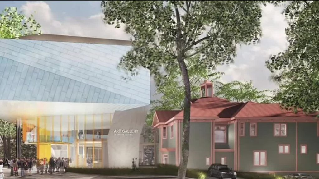 Province announces $6M for Victoria art gallery renos