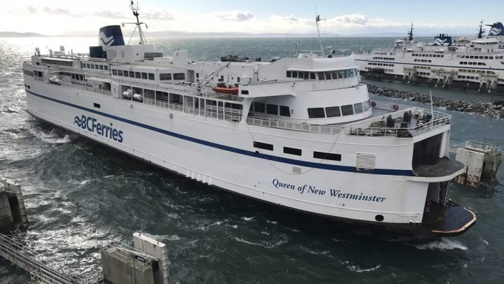 BC Ferries resumes normal service following propeller mechanical issue