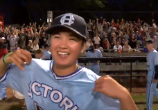 Claire Eccles closes out final game in HarbourCats uniform