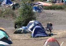 Death at Nanaimo's tent city Sunday results in call for OD prevention site