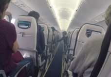 Oil leak the cause of cabin smoke on WestJet flight to Nanaimo in March, TSB report