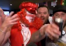 Local fans react as Croatia defeats England, nabbing a spot in the World Cup final